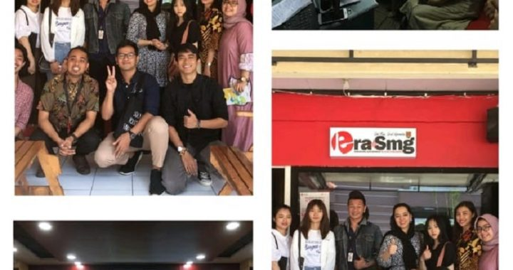 Interview of Foreign Students Unwahas on Semarang Radio